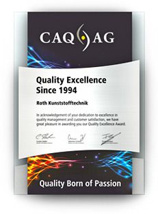 CAQ AG Quality Excellence Award