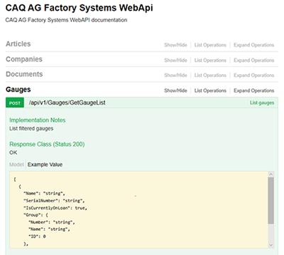 Wie vernetzt man ein CAQ-System? OpenAPI und das Industrial Internet of Things